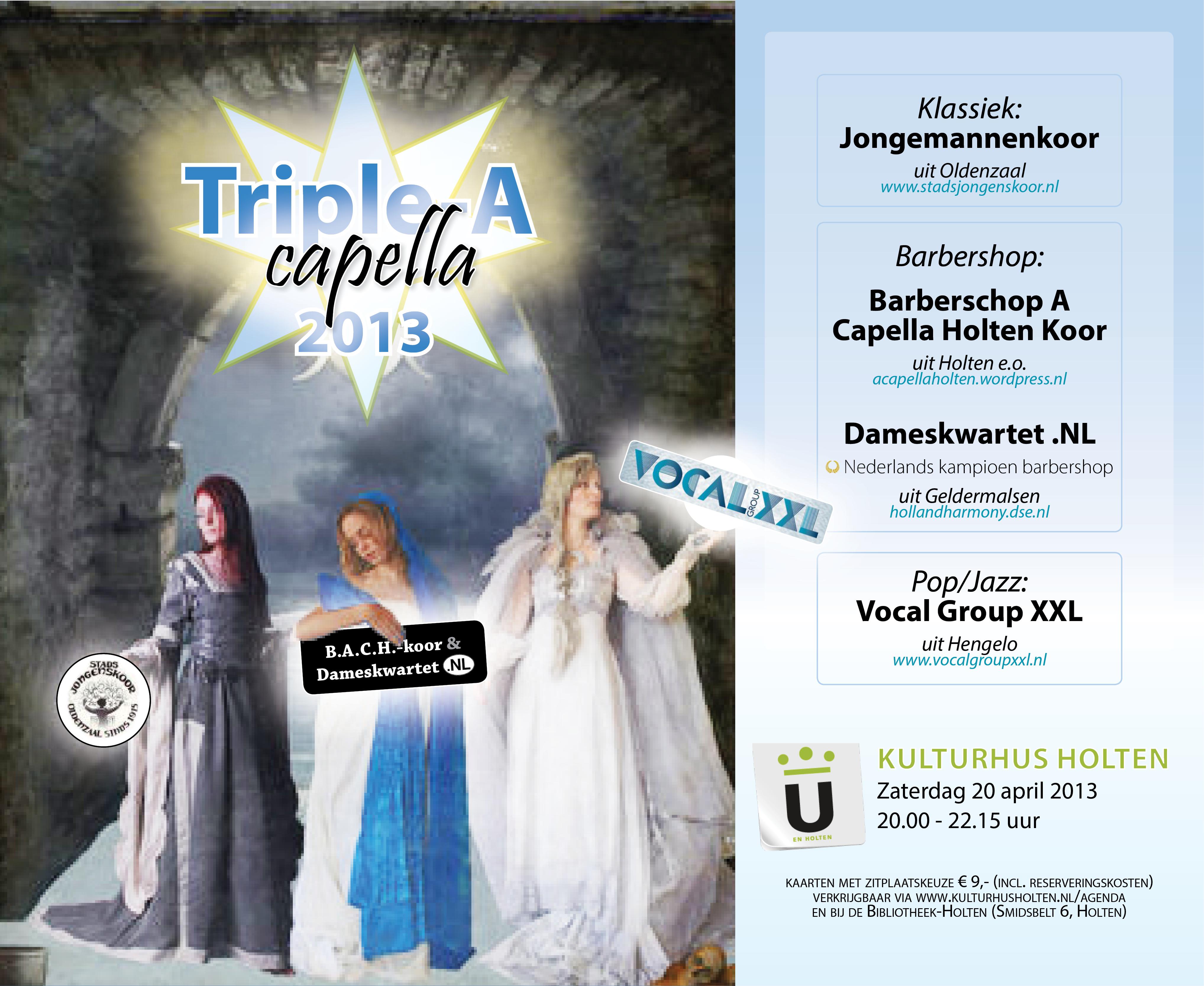 poster Triple-A-Capella-2013